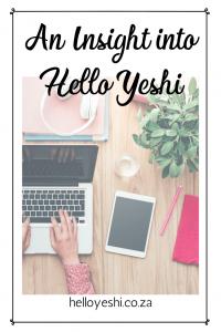 Insight Hello Yeshi Pin