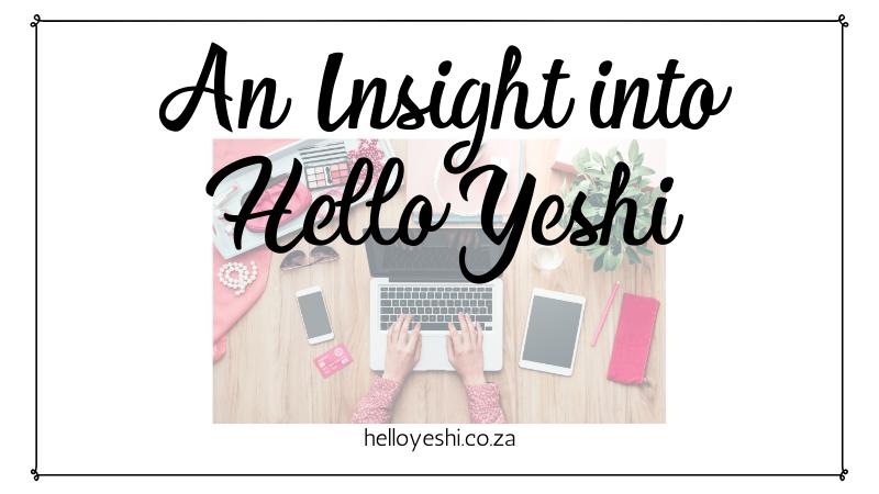 Insight Hello Yeshi