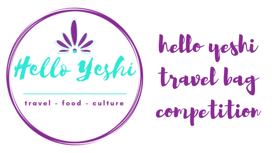 Hello Yeshi Travel Bag Competition