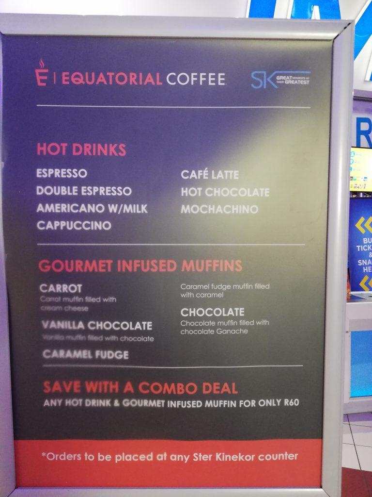 Equatorial Coffee Corner Bakery Hello Yeshi