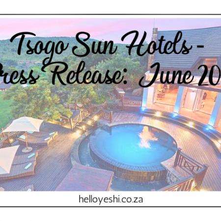 Tsogo Sun Hotels - Press Release: June 2020